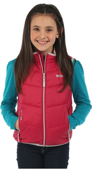 Regatta Icebound Bodywarmer Jacket Kids Dark Cerise/Dark Cerise